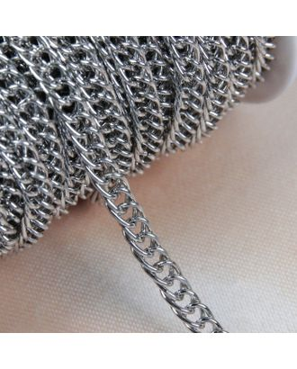 Цепочка для сумки, витая, 7х9,9 мм, 10±0,5м арт. СМЛ-23580-2-СМЛ3904517
