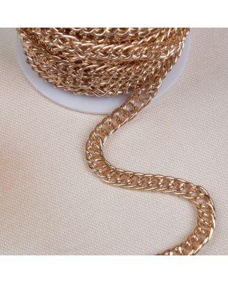 Цепочка для сумки, витая, 7х9,9 мм, 10±0,5м арт. СМЛ-23580-1-СМЛ3904518