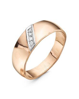 """Кольцо """"Обручальное"""" дорожка, позолота, 17,5 размер арт. СМЛ-31628-1-СМЛ3910471"""