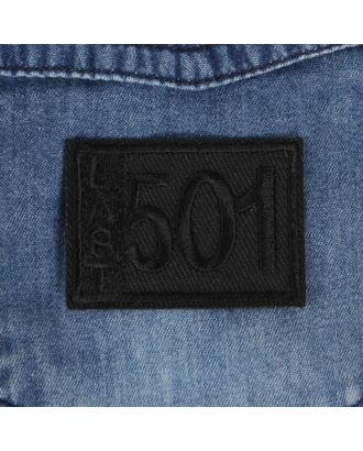 Термоаппликация «Last 501» р.3,3х4,6 см арт. СМЛ-29110-1-СМЛ3913769