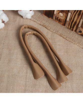 Ручки для сумки, кожаные, 2 шт, 44х1 см арт. СМЛ-23585-3-СМЛ3915678