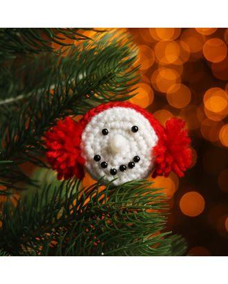 Набор для создания новогодней подвески со светом «Мордочка» арт. СМЛ-16002-1-СМЛ3925206