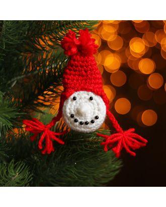 Набор для создания новогодней подвески со светом «Девочка-снеговик» арт. СМЛ-16003-1-СМЛ3925207