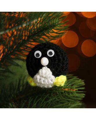 Набор для создания новогодней подвески со светом «Пингвинчик» арт. СМЛ-16007-1-СМЛ3925211