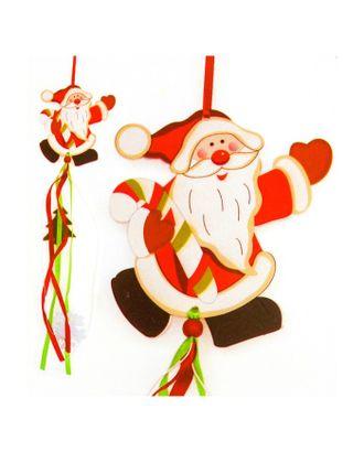 Набор для создания новогодней подвески «Дед Мороз» арт. СМЛ-16034-1-СМЛ3925238