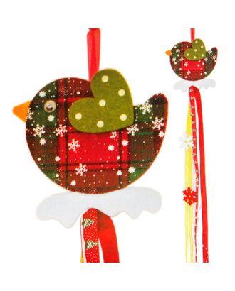 Набор для создания новогодней подвески «Птичка» арт. СМЛ-16042-1-СМЛ3925246