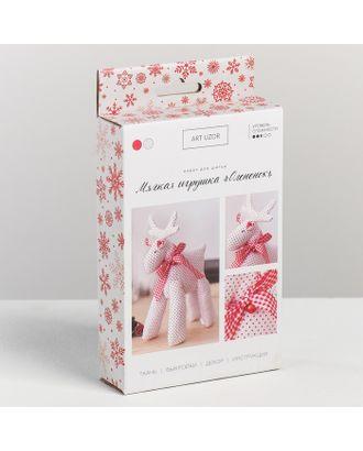Мягкая игрушка «Олененок», набор для шитья, 10,7х16,3х3,5 см арт. СМЛ-16124-1-СМЛ3930939