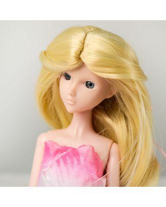 """Волосы для кукол """"Волнистые с хвостиком"""" размер маленький, цвет 613 арт. СМЛ-16160-1-СМЛ3934314"""