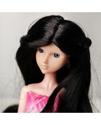 """Волосы для кукол """"Волнистые с хвостиком"""" размер маленький, цвет 2В арт. СМЛ-16162-1-СМЛ3934316"""