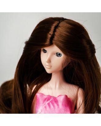 """Волосы для кукол """"Волнистые с хвостиком"""" размер маленький, цвет 9 арт. СМЛ-16163-1-СМЛ3934317"""