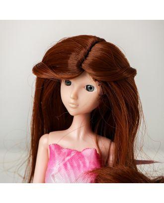 """Волосы для кукол """"Волнистые с хвостиком"""" размер маленький, цвет 30Y арт. СМЛ-16172-1-СМЛ3934326"""