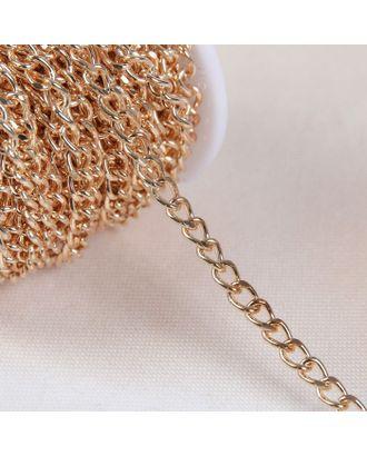 Цепочка для сумки, 7,5х7,5 мм, 10±0,5м арт. СМЛ-23782-2-СМЛ3936171