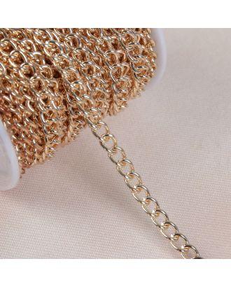 Цепочка для сумки, 6,2х8,8 мм, 10±0,5м арт. СМЛ-23780-2-СМЛ3936175