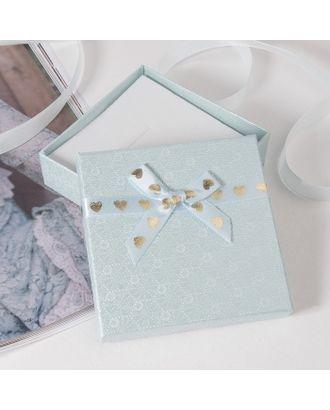 """Коробочка подарочная под набор """"Влюбленность"""", 9*9 (размер полезной части 8,5х8,5см) арт. СМЛ-23799-1-СМЛ3945299"""