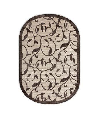 Ковер «Циновка», форма овал, размер 100х200 см арт. СМЛ-29874-1-СМЛ3947761