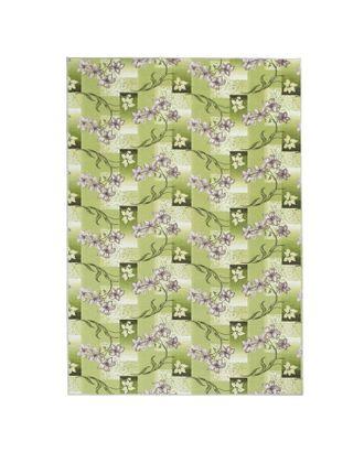 Палас Афродита, размер 200х300 см, цвет зелёный, войлок 195 г/м2 арт. СМЛ-23844-1-СМЛ3947876
