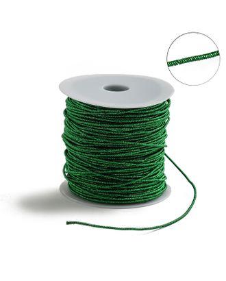 Проволока для плетения в обмотке Люрекс, d=1.5мм, L=100м арт. СМЛ-29154-1-СМЛ3951231