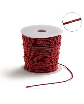 Проволока для плетения в обмотке Люрекс, d=1.5мм, L=100м арт. СМЛ-29154-3-СМЛ3951232