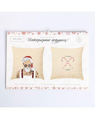 Интерьерные подушки Bad Santa, набор для шитья 21х29,7 см арт. СМЛ-16457-1-СМЛ3951528