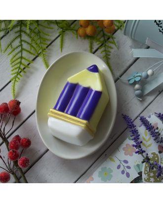 "Пластиковая форма для мыла ""Карандаш"" 10,6х5,2х2.5 см арт. СМЛ-36256-1-СМЛ0003954189"