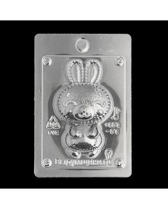 """Пластиковая форма для мыла """"Зайчонок"""" 10х6х2,5 см арт. СМЛ-36259-1-СМЛ0003954259"""