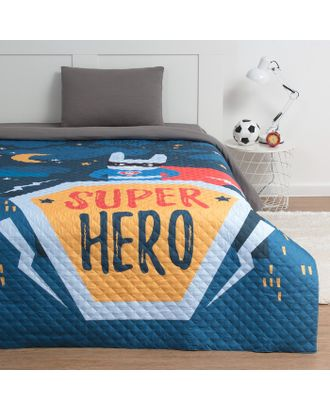 """Покрывало """"Этель"""" 1,5 сп Super hero, 145*210 см, микрофибра арт. СМЛ-16657-1-СМЛ3961306"""