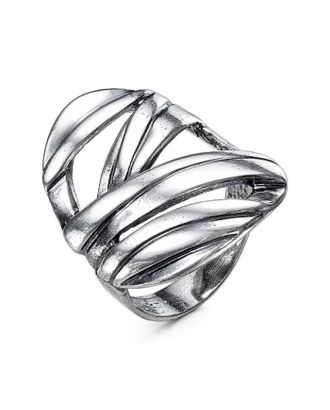 """Кольцо """"Узлы"""", посеребрение, 17,5 размер арт. СМЛ-23870-2-СМЛ3966000"""