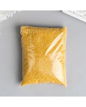 """Песок цветной в пакете """"Тёмно-жёлтый"""" 100 гр арт. СМЛ-120966-1-СМЛ0003967365"""