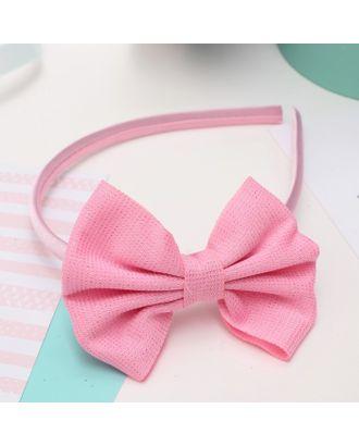 """Ободок для волос """"Малышка"""" 1 см блеск, розовый арт. СМЛ-17079-1-СМЛ3974857"""