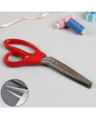 Ножницы «Волна», 23 см, шаг - 5 мм арт. СМЛ-23963-2-СМЛ3987833