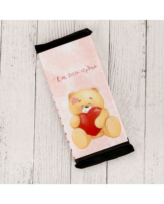 Обёртка для шоколада «Медведь», 18.2 × 15.5 см арт. СМЛ-120983-1-СМЛ0004004765