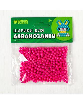 Шарики для аквамозаики, набор 500 шт, цвет темно-коричневый арт. СМЛ-24028-15-СМЛ4008505