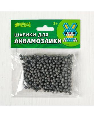 Шарики для аквамозаики, набор 500 шт, цвет темно-коричневый арт. СМЛ-24028-18-СМЛ4008510