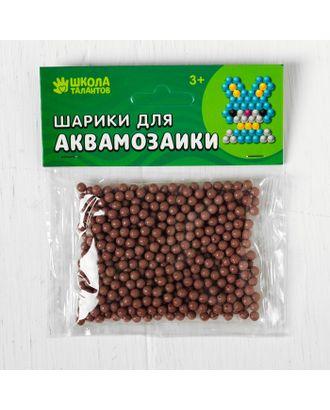 Шарики для аквамозаики, набор 500 шт, цвет темно-коричневый арт. СМЛ-24028-11-СМЛ4008512