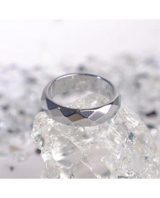 """Кольцо """"Гематит"""" гранёный, 5-6мм, цвет серый, размер МИКС арт. СМЛ-17779-1-СМЛ4014272"""