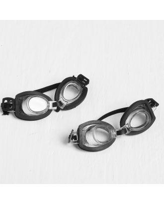 Очки для игрушек на резинке, набор 2 шт, размер: 1 шт. 1,5х9х2 см арт. СМЛ-18144-1-СМЛ4028678