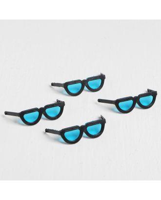 Очки для игрушек, набор 4 шт, размер: 1 шт. 0,5х14,5х2,5 см арт. СМЛ-18149-1-СМЛ4028736