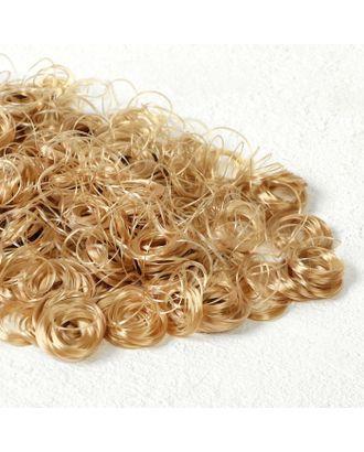 """Волосы для кукол """"Кудряшки"""" 70 г, размер завитка: 1 см, цвет D010А арт. СМЛ-18678-1-СМЛ4062815"""