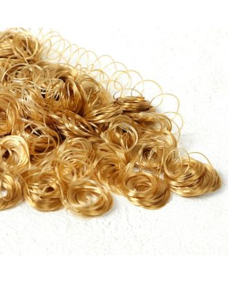 """Волосы для кукол """"Кудряшки"""" 70 г, размер завитка: 1 см, цвет D7104 арт. СМЛ-18683-1-СМЛ4062820"""