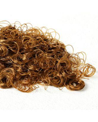 """Волосы для кукол """"Кудряшки"""" 70 г, размер завитка: 1 см, цвет D611 арт. СМЛ-18699-1-СМЛ4062836"""