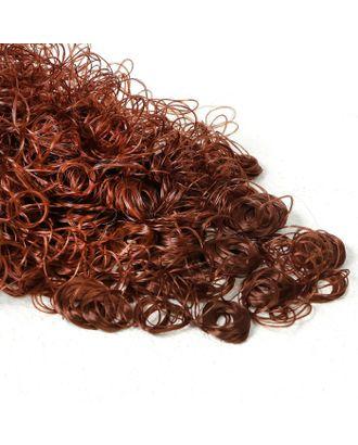 """Волосы для кукол """"Кудряшки"""" 70 г, размер завитка: 1 см, цвет D6105 арт. СМЛ-18701-1-СМЛ4062838"""