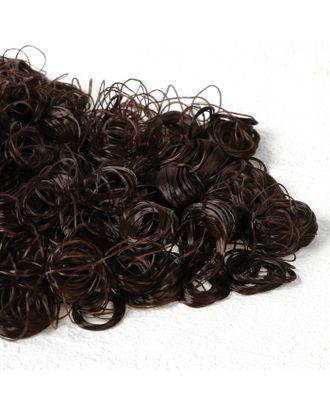 """Волосы для кукол """"Кудряшки"""" 70 г, размер завитка: 1 см, цвет D621 арт. СМЛ-18705-1-СМЛ4062842"""