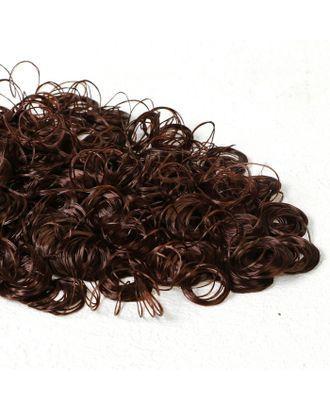 """Волосы для кукол """"Кудряшки"""" 70 г, размер завитка: 1 см, цвет D645 арт. СМЛ-18706-1-СМЛ4062843"""