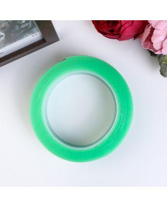 """Клейкая лента силикон клеится на обе стороны """"Зелёный"""" ширина 3 см, намотка 2 метра арт. СМЛ-18724-1-СМЛ4064165"""