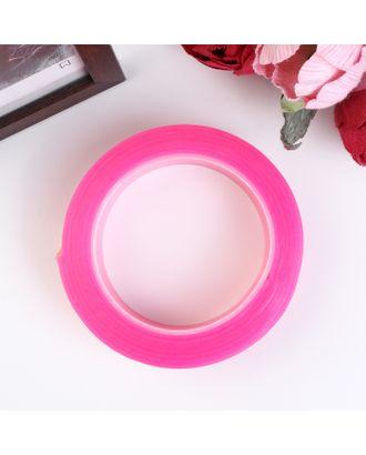 """Клейкая лента силикон клеится на обе стороны """"Розовый"""" ширина 3 см, намотка 2 метра арт. СМЛ-18725-1-СМЛ4064166"""