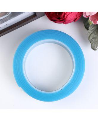 """Клейкая лента силикон клеится на обе стороны """"Синий"""" ширина 3 см, намотка 2 метра арт. СМЛ-18726-1-СМЛ4064167"""