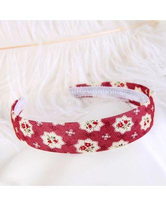 """Ободок для волос """"Оливи"""" 3 см, мелкие цветочки, микс арт. СМЛ-18940-1-СМЛ4079049"""