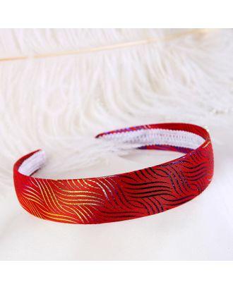 """Ободок для волос """"Полли"""" 2,8 см, радуга, микс арт. СМЛ-18943-1-СМЛ4079052"""