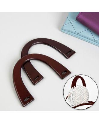 Ручки для сумки деревянные, 11х16,5 см арт. СМЛ-24358-2-СМЛ4089188