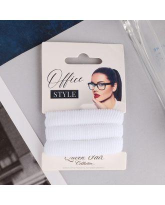 """Резинка для волос """"Стиль классик"""" (набор 3 шт.) 5,5 см арт. СМЛ-24451-1-СМЛ4104579"""